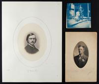Platinum print, cyanotype, and salted paper print