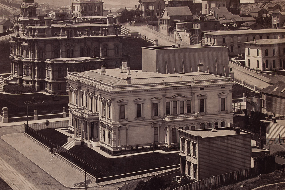 Crocker Spite Fence - Muybridge Panorama 1878