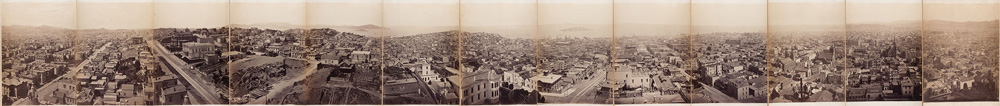 Eadweard Muybridge San Francisco Panorama 1878