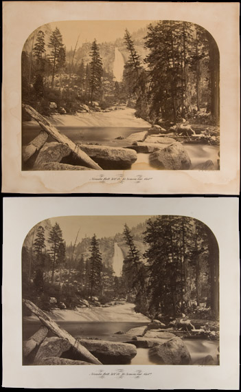Carleton E. Watkins Conservation Treatment