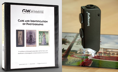 Workshop Notebook and 60x handheld microscope